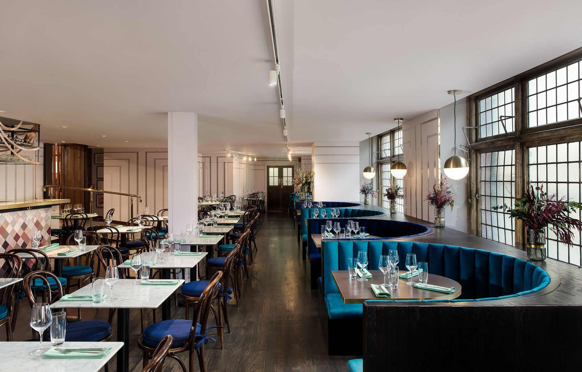 Liberty london s new restaurant arthur s opens on 2 for Interior design apprenticeships london